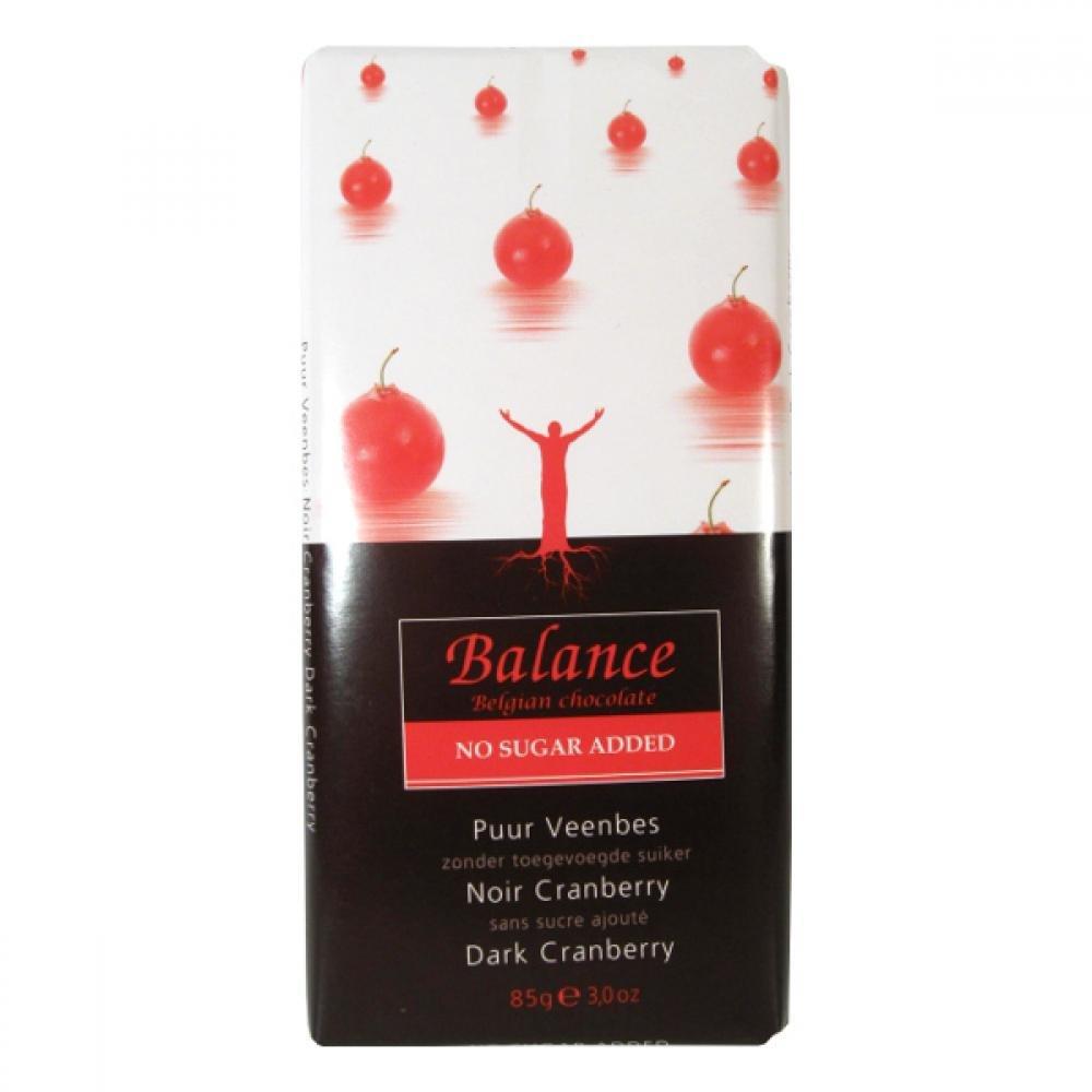 Balance hořká čokoláda s brusinkami bez přidaného cukru 85g