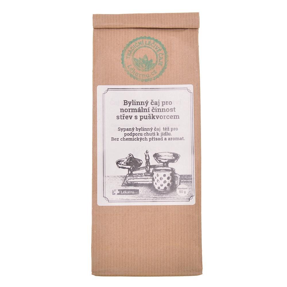 Bylinný čaj pro normální činnost střev s puškvorcem od LÉKÁRNA.CZ 50 g