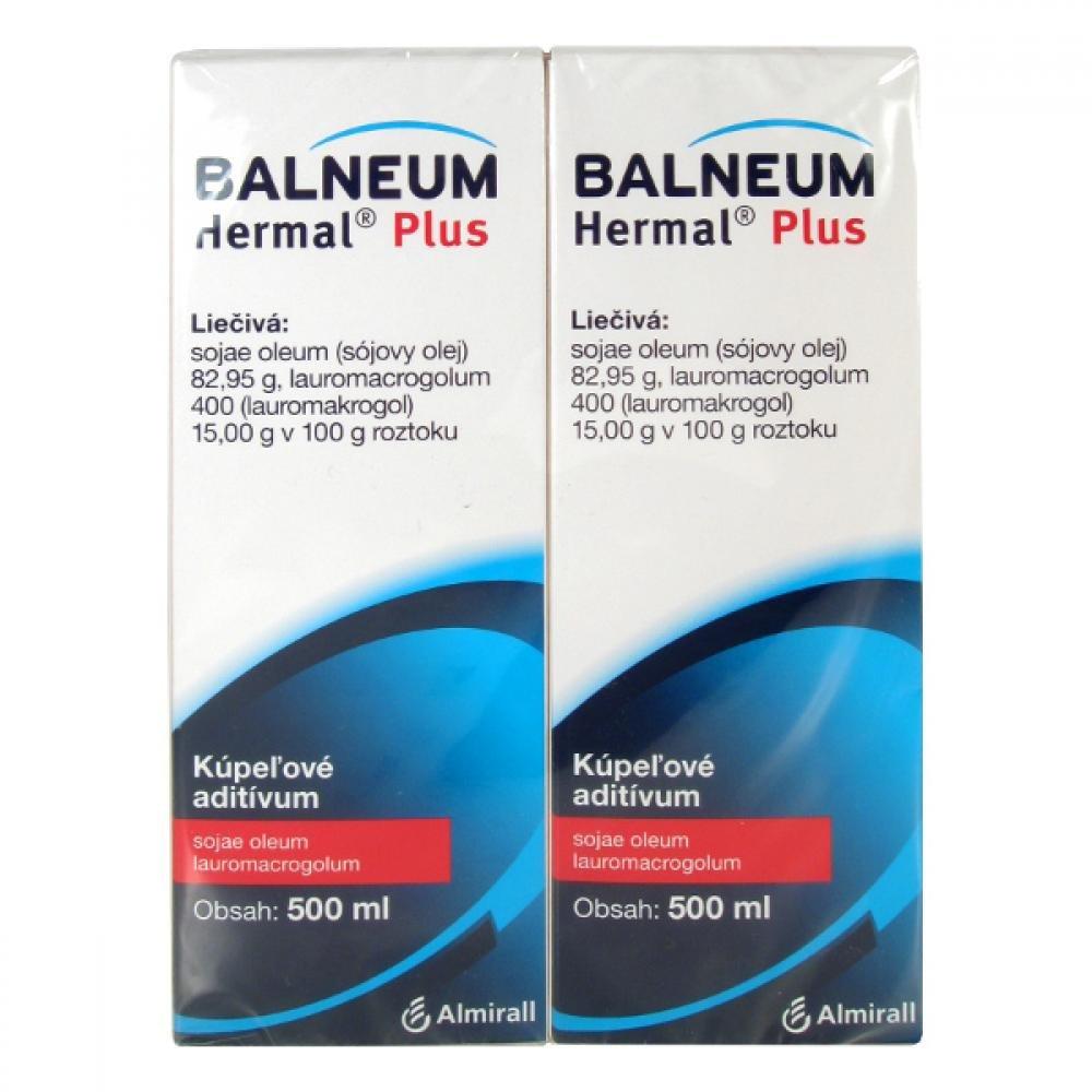 Balneum Hermal Plus 2X500ML Přísada do koupele