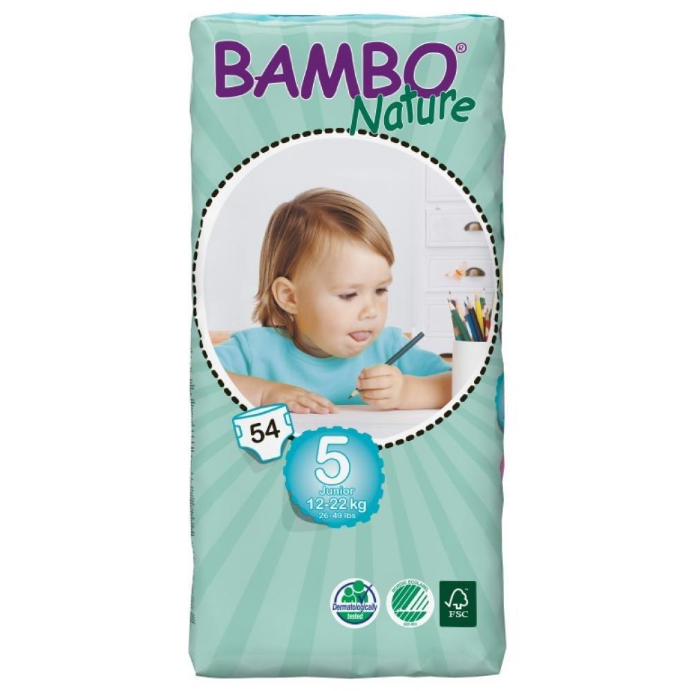 ABENA A.S. BAMBO Nature Junior plen.k. 12-22kg 54ks