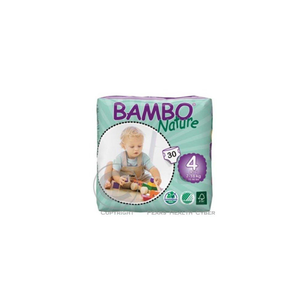 BAMBO Nature Maxi plenkové kalhotky 7 - 18 kg 30 ks