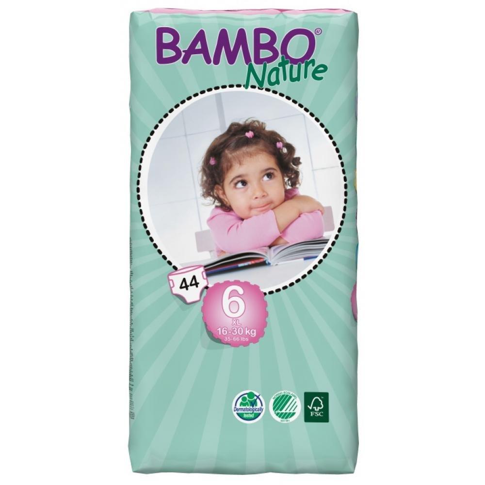 BAMBO Nature XL plenkové kalhotky 16 - 30 kg 44 kusů
