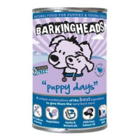BARKING HEADS Puppy Days Salmon konzerva 400 g new