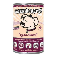 BARKING HEADS Quackers konzerva 400 g new