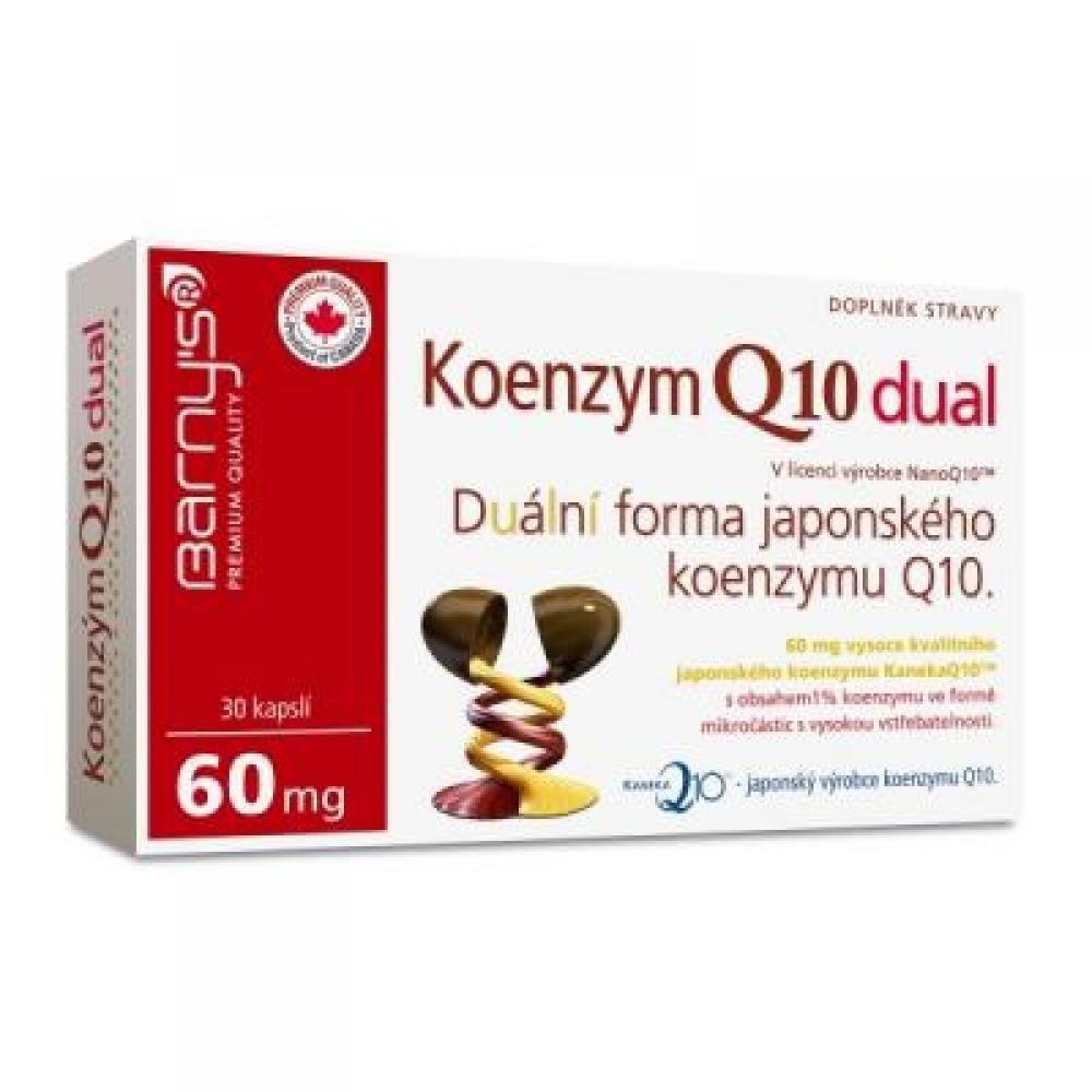Barny´s Koenzym Q10 dual 60mg 30cps