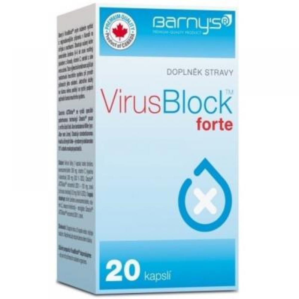 Barnys VirusBlock forte 20 cps.