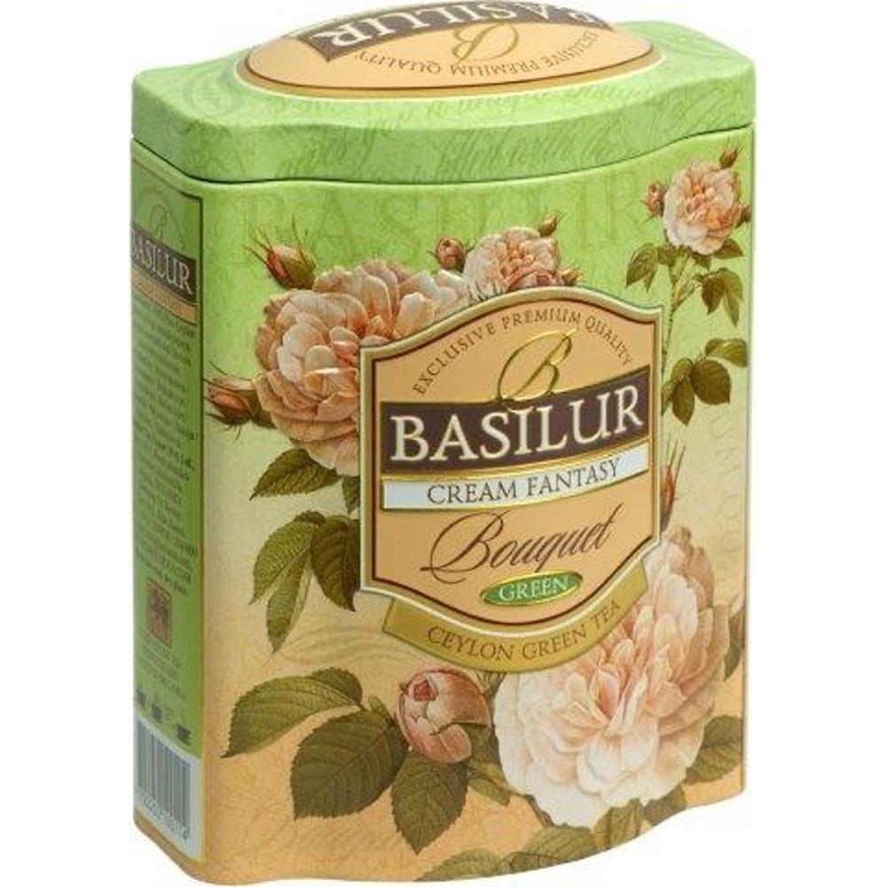 Basilur Green Tea Cream Fantasy 100g