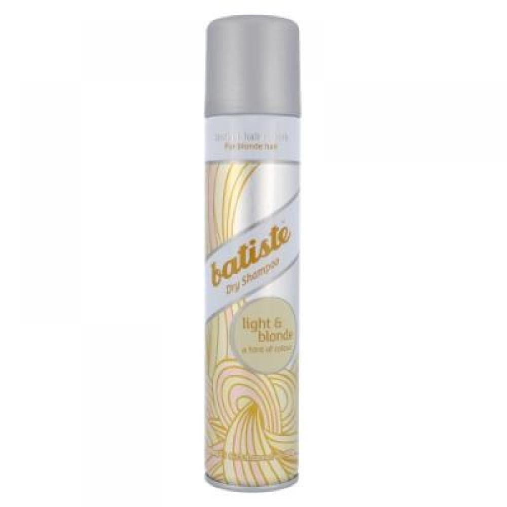 BATISTE Brilliant Blonde suchý šampon na normální vlasy Pro světlé odstíny vlasů 200 ml