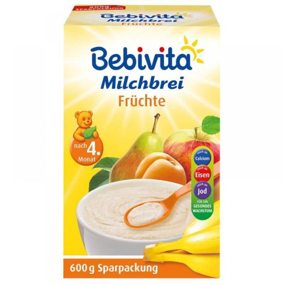 BEBIVITA Kaše mléčná ovocná 600g