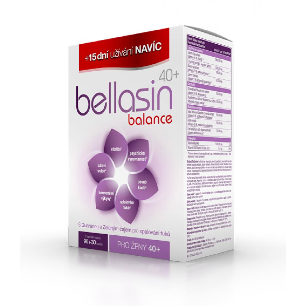 BELLASIN Balance 40+ 90+30 kapslí ZDARMA výprodej