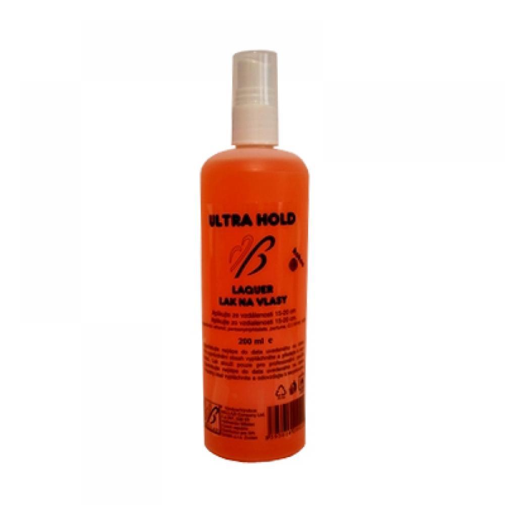 Bellazi lak na vlasy s mr, 200ml (oranžový)