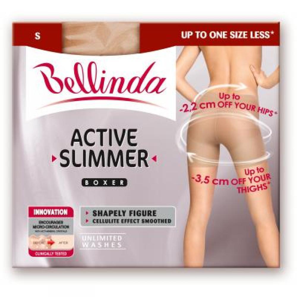 BELLINDA Active slimmer boxer (zeštíhlující boxerky tělové) velikost S