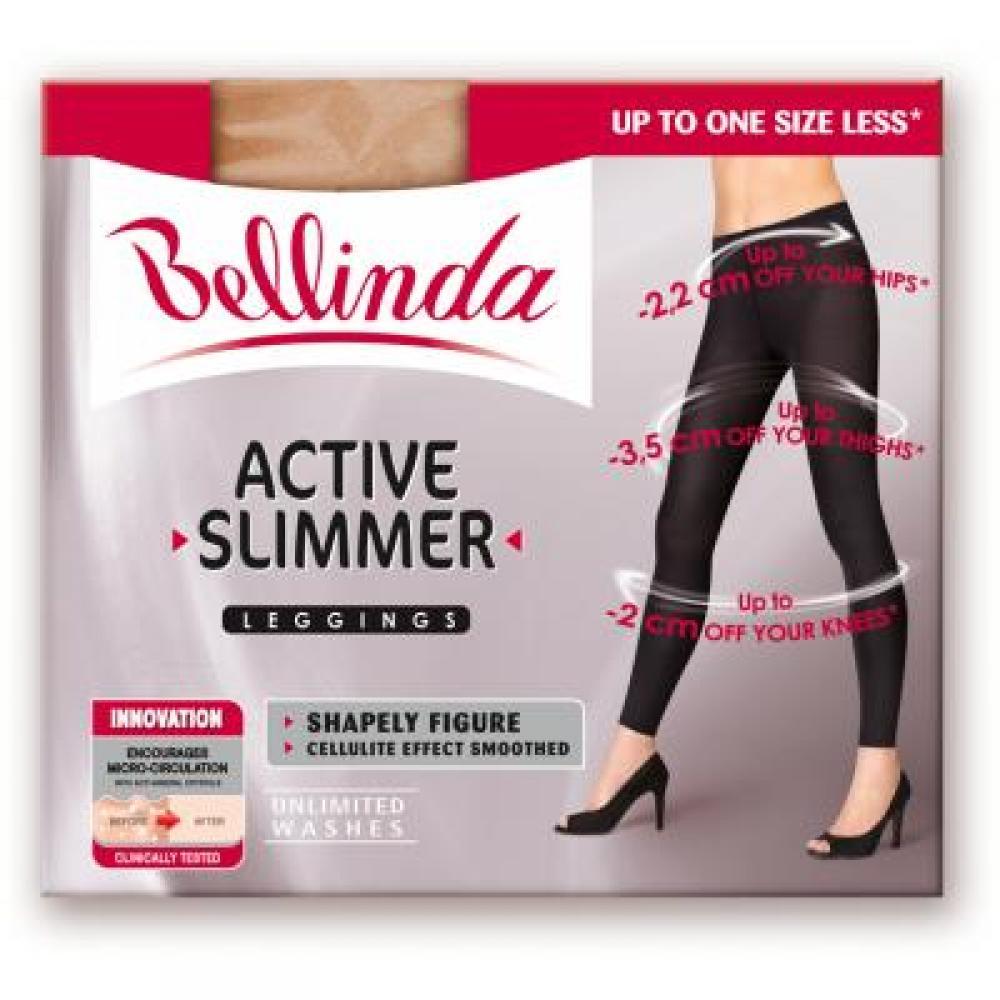 BELLINDA Active slimmer leggins (zeštíhlující legíny černé) velikost M