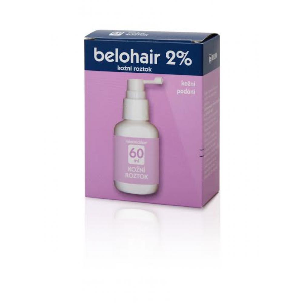 BELUPO Belohair 2% roztok k zevnímu užití 60 ml