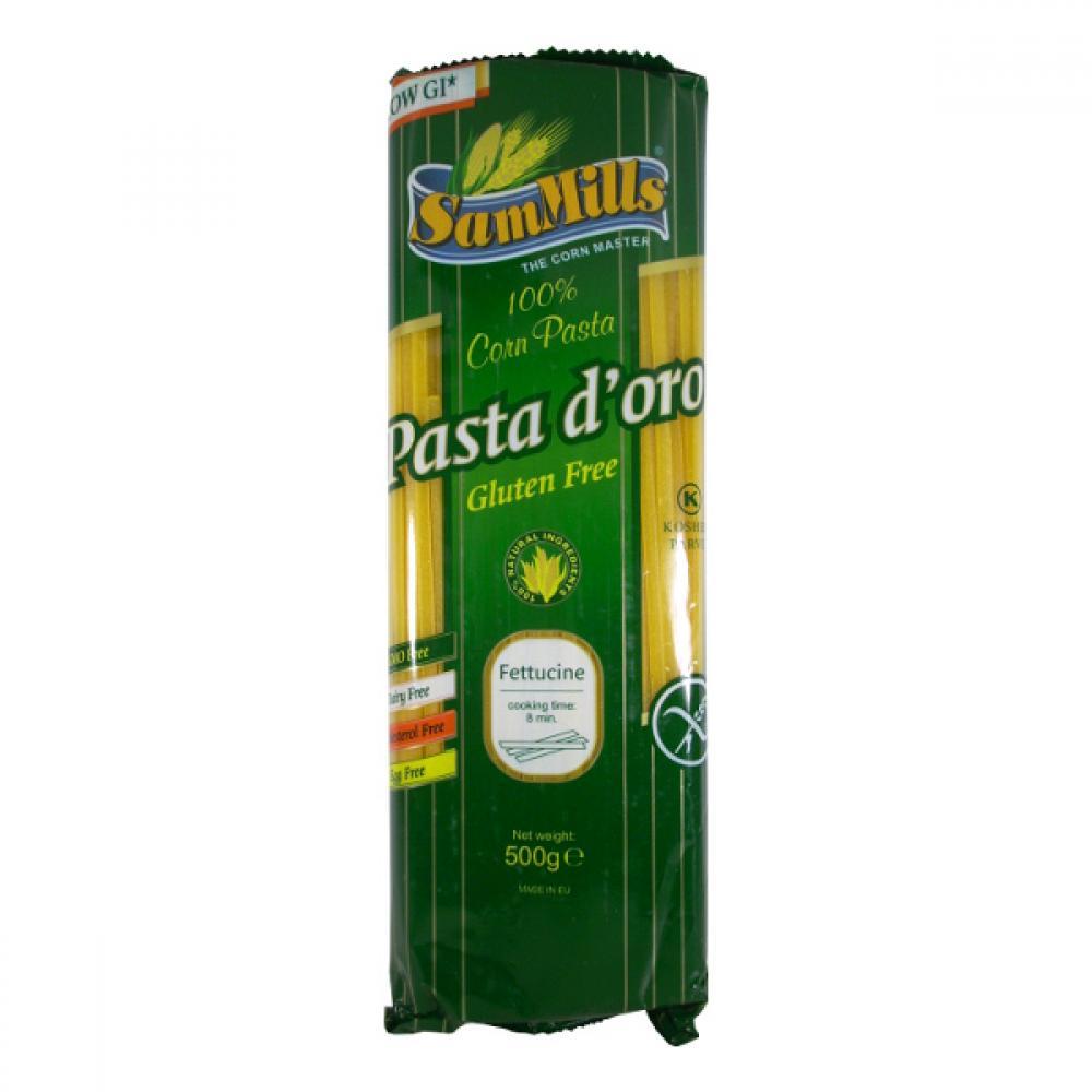 Sam Mills Bezlepkové kukuřičné těstoviny 500 g Fettucine