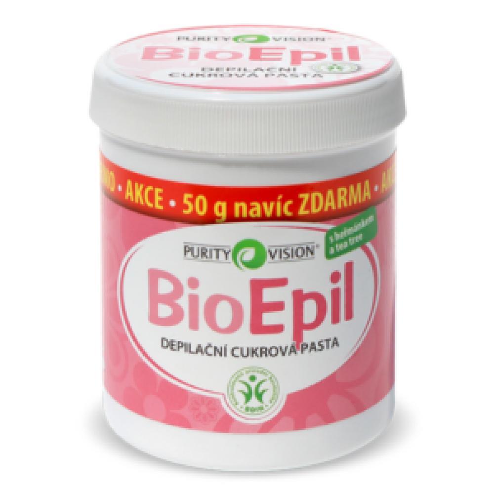 PURITY VISION BioEpil depilační cukrová pasta 350+50 g