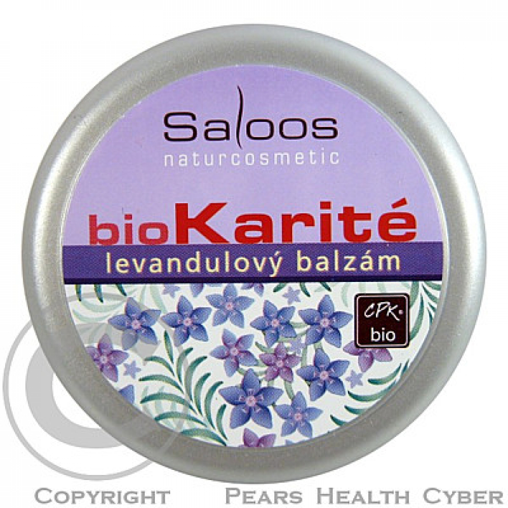 SALOOS Bio Karité levandulový balzám 50ml