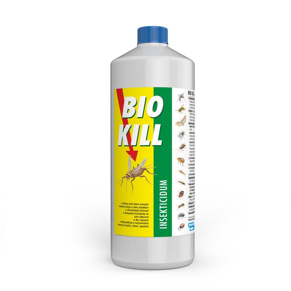 BIOVETA Bio Kill insekticid 1000 ml (zásobní balení)
