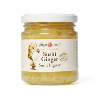 GINGER PARTY Zázvor plátky BIO 190 g