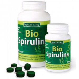 HEALTH LINK BIO Spirulina 500 mg 100 tablet