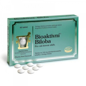 PHARMA NORD Bioaktivní Biloba 100 mg 30 tablet