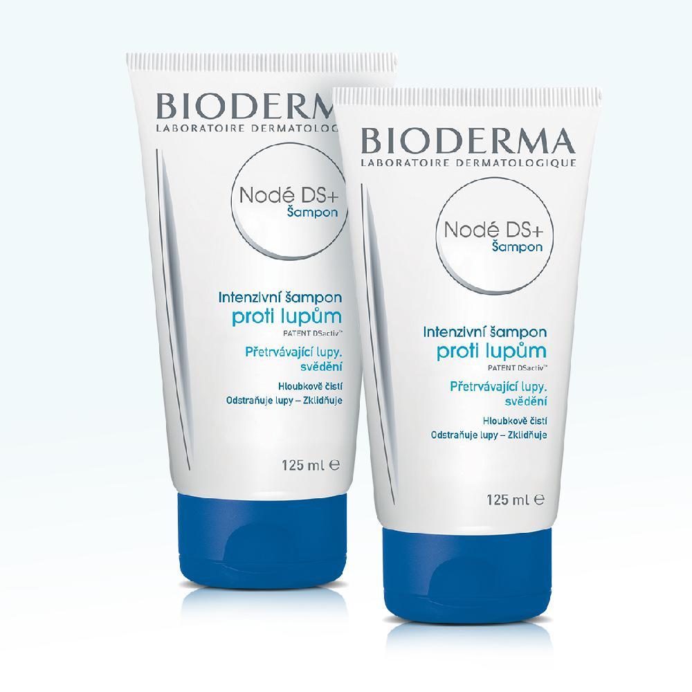 BIODERMA Nodé DS+ dárkové balení šampón proti lupům 1+1 ZDARMA