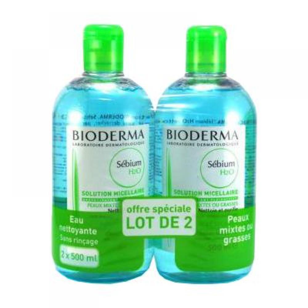 BIODERMA Sébium dárkové balení H2O 2x500 ml