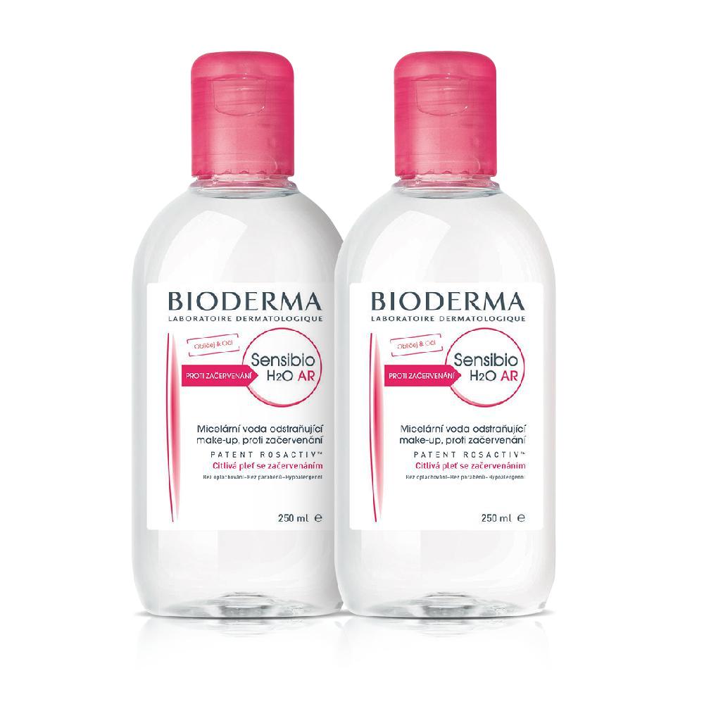 BIODERMA Sensibio dárkové balení H2O AR 250 ml + 250 ml