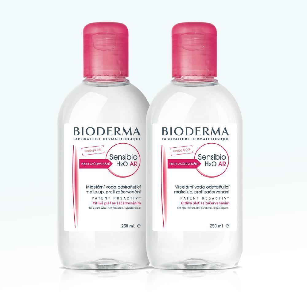BIODERMA Sensibio dárkové balení H2O AR 250 ml+250 ml