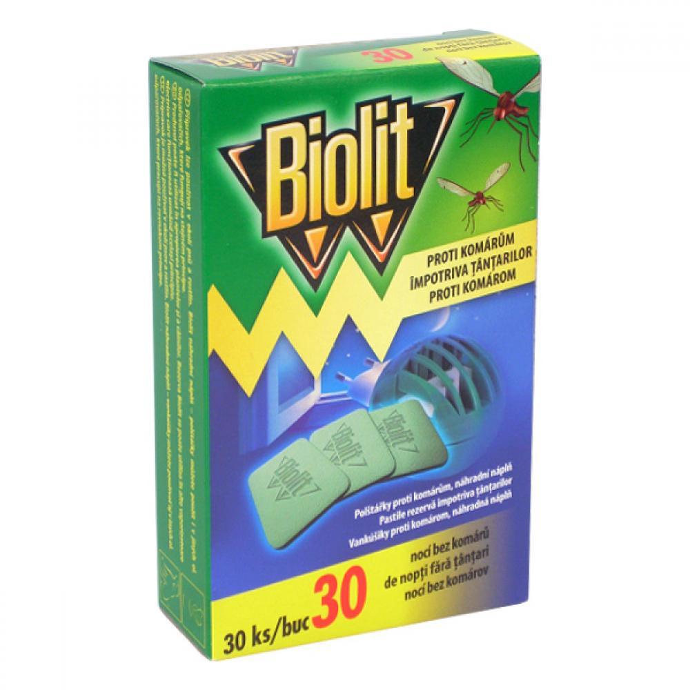 Biolit polštářky NN do elektrického odpařovače 30ks