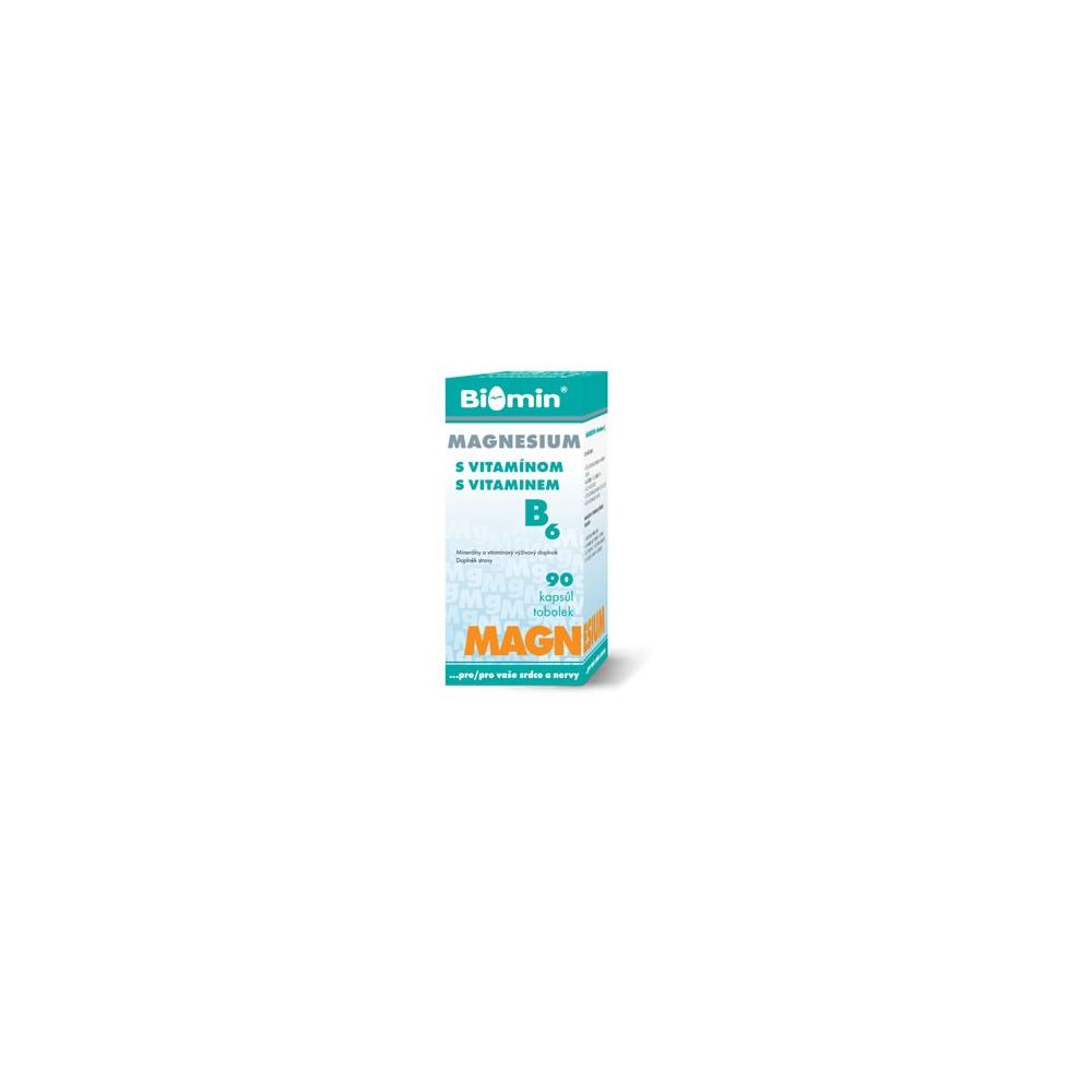 MAGNESIUM S Vitamínem B6 cps.90 Biomin