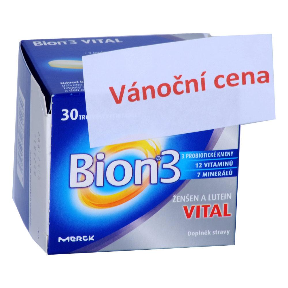 BION 3 Vital 30 tablet Vánoční balení