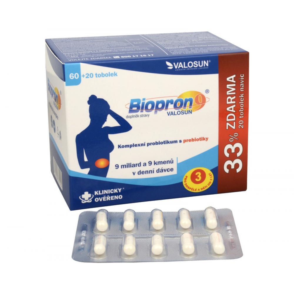 VALOSUN Biopron9 – 60+20 ZDARMA