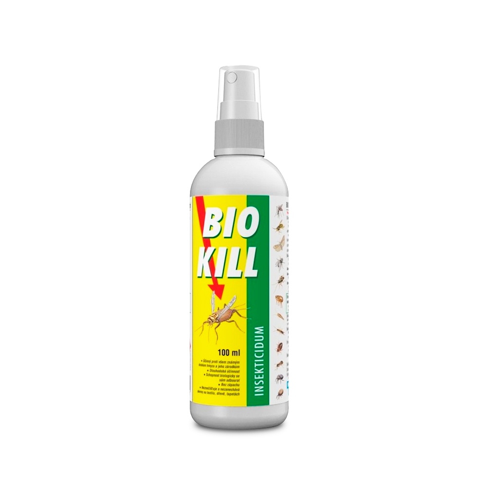 BIOVETA Bio Kill 2,5 mg/ml kožní sprej emulze 100ml