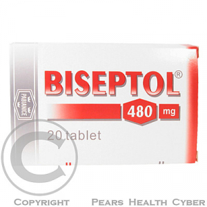 BISEPTOL 480  20X480MG Tablety