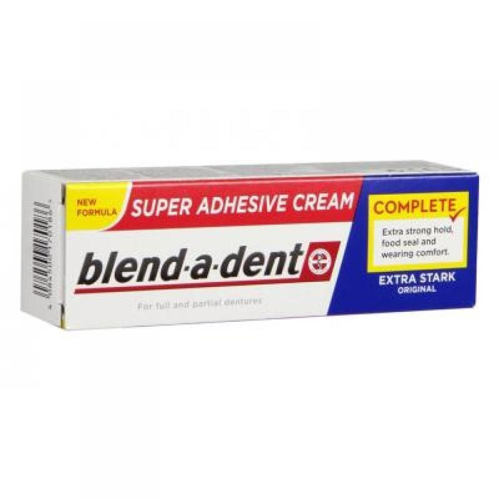 BLEND-A-DENT Extra Stark Frisch fixační krém na zubní náhrady 47 g
