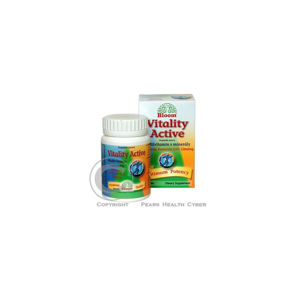 BLOOM Vitality Active Multivitamin s minerály tbl.60