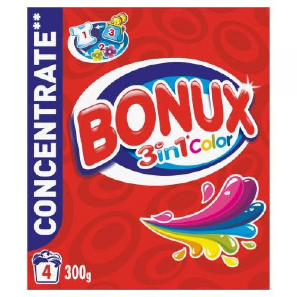 Bonux prášek Color 4 prací dávky