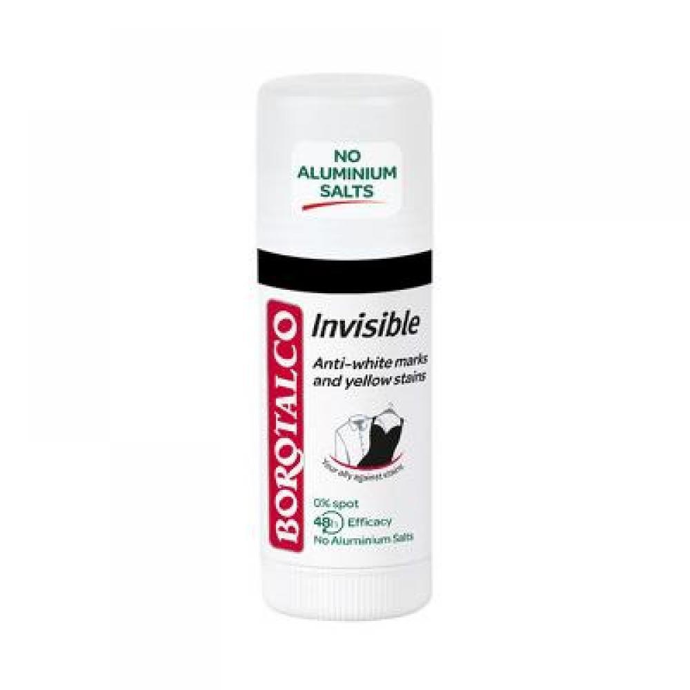 BOROTALCO Tuhý deodorant Invisible 40 ml