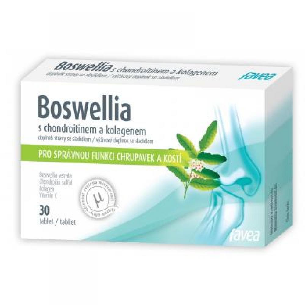 FAVEA Boswellia s kolagenem 30 tablet