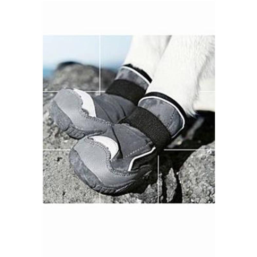Botička ochranná Hurtta Outback Boots M černá 2 ks