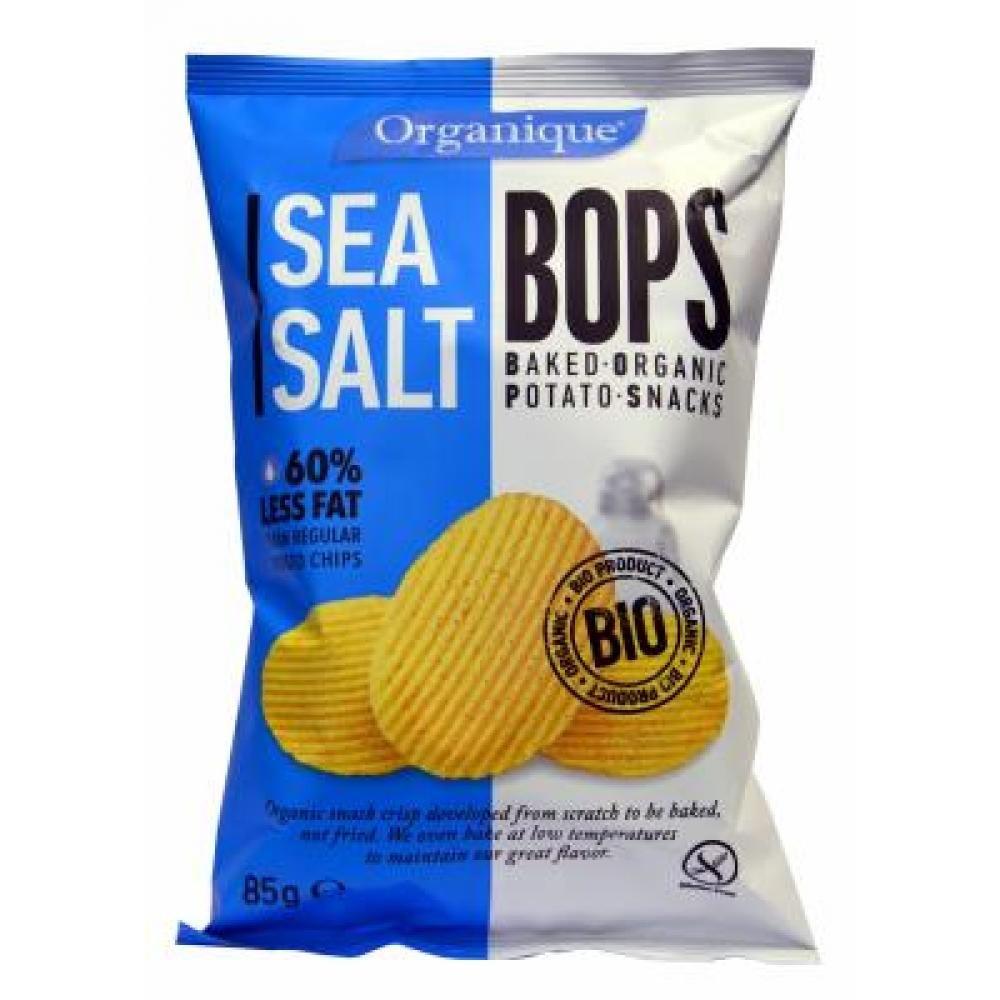 Bramborové chipsy BIO 85 g - s mořskou řasou, mořská sůl