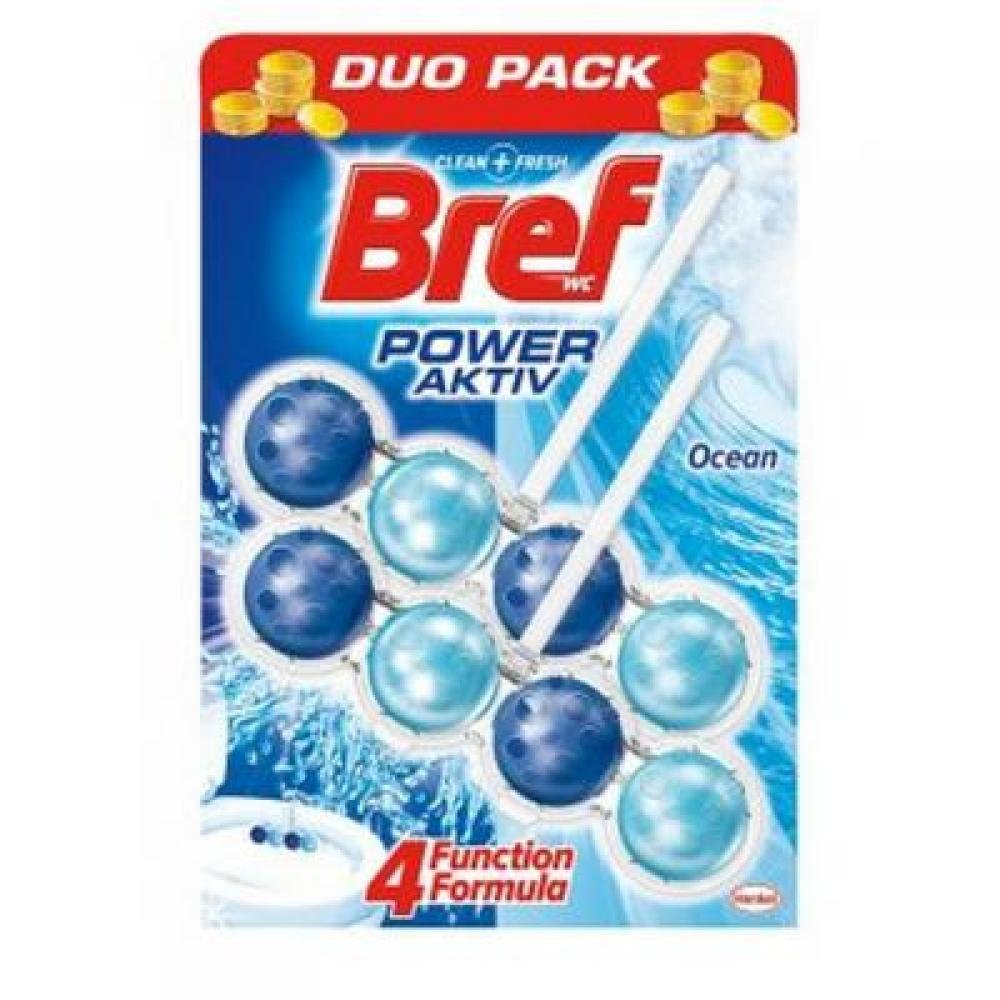 BREF Power Activ WC blok Ocean 2x51 g