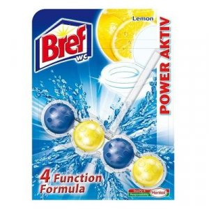 BREF Power Activ WC blok Lemon 51 g