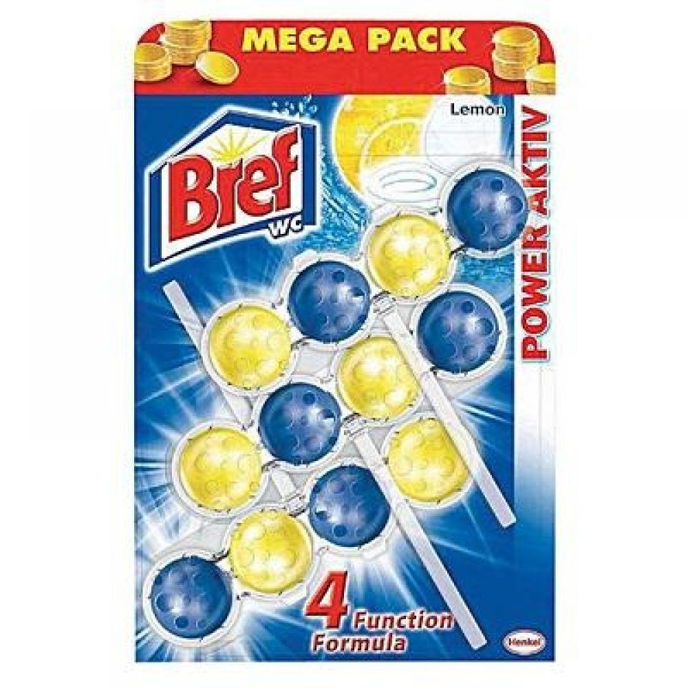 Bref Power Aktiv Lemon 3x50g