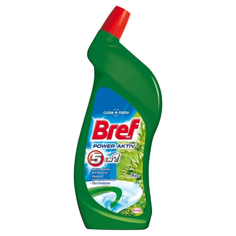BREF Power aktiv Wc tekutý čistič Pine 750 ml