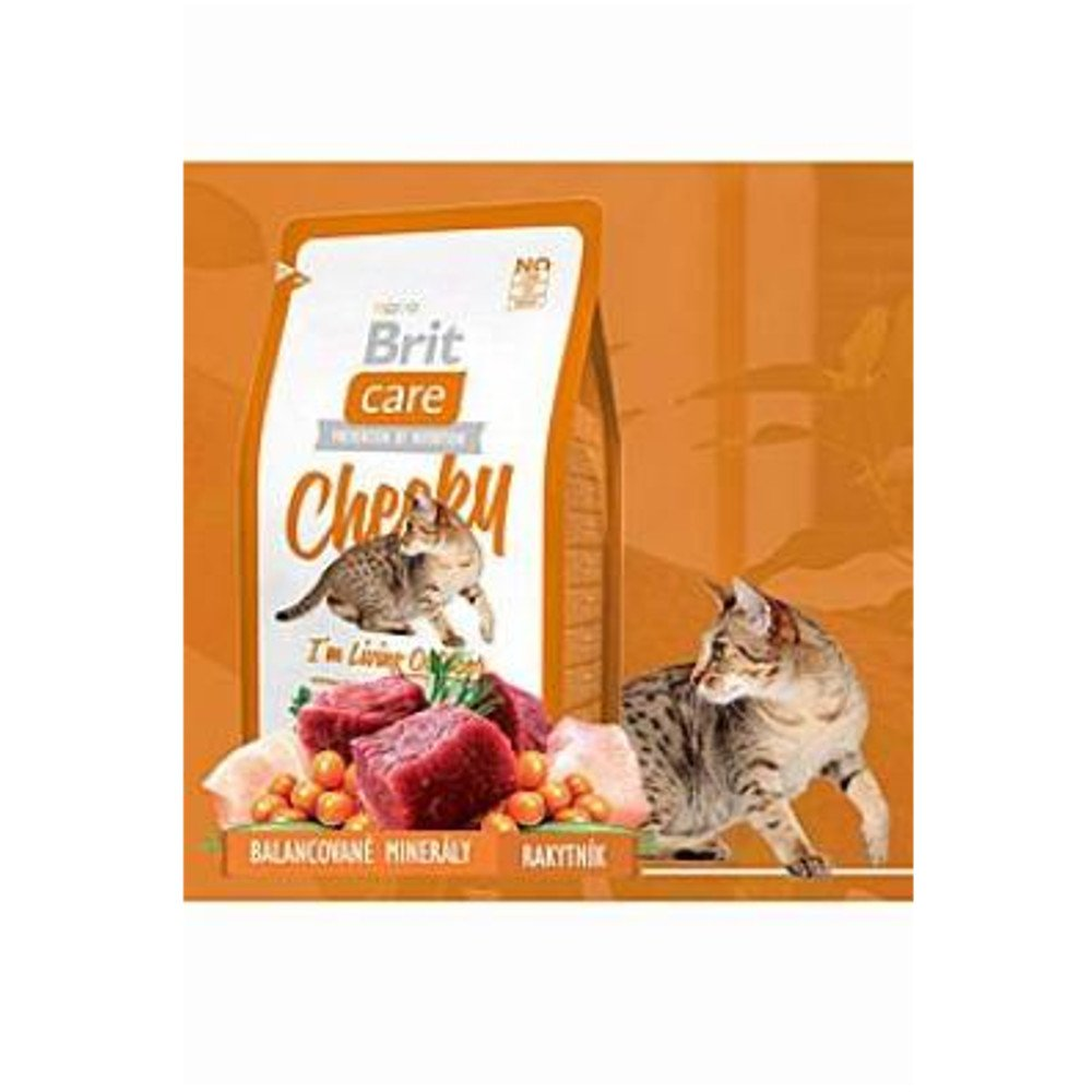 BRIT CARE Cat Cheeky I´m Living Outdoor 400 g