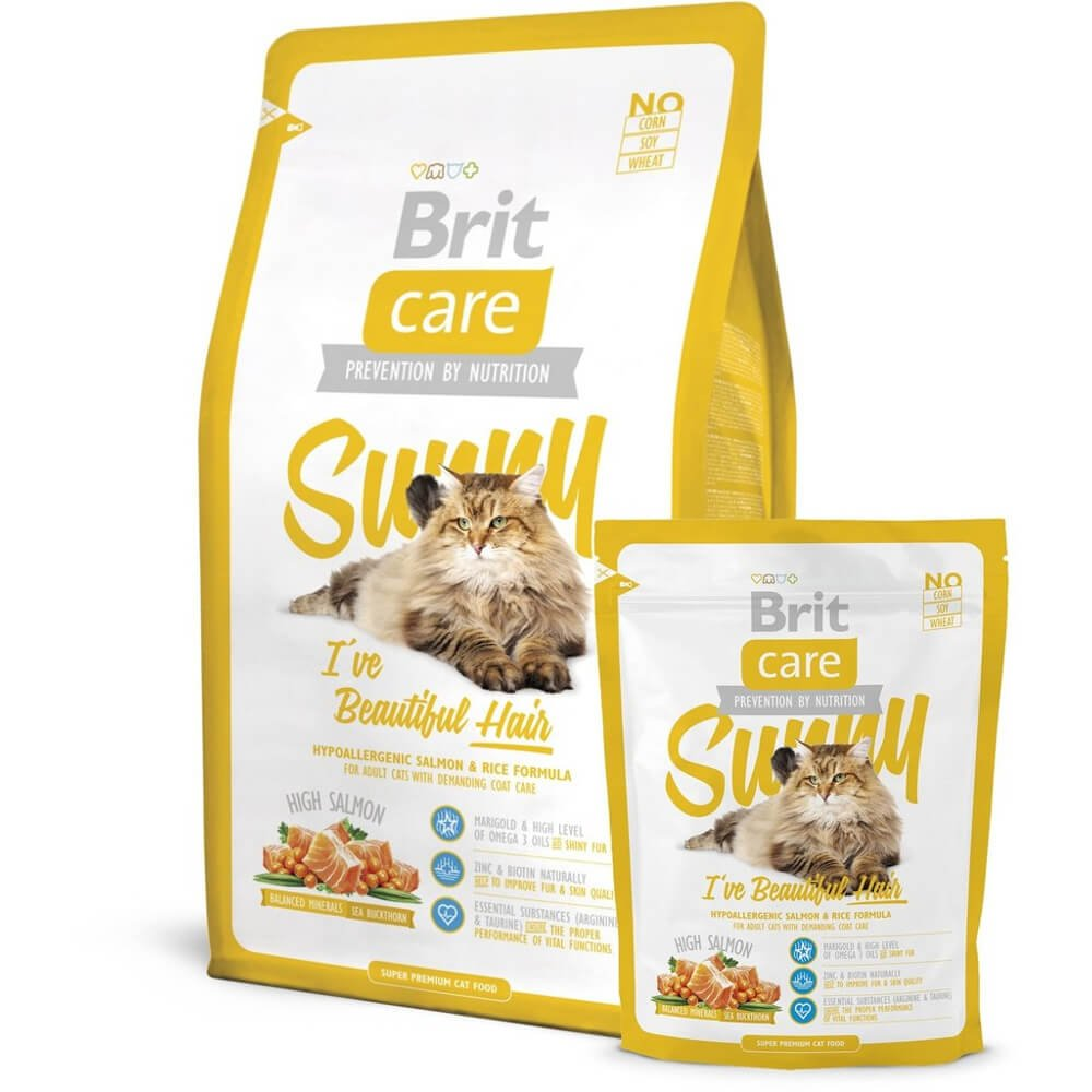 BRIT Care Cat Sunny I´ve Beautiful Hair 400 g