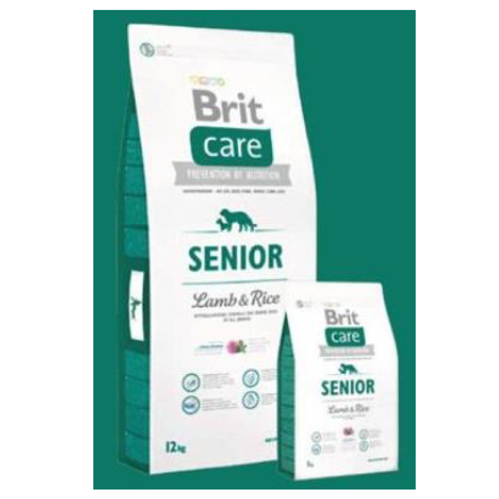 BRIT CARE Dog Senior Lamb & Rice 3 kg