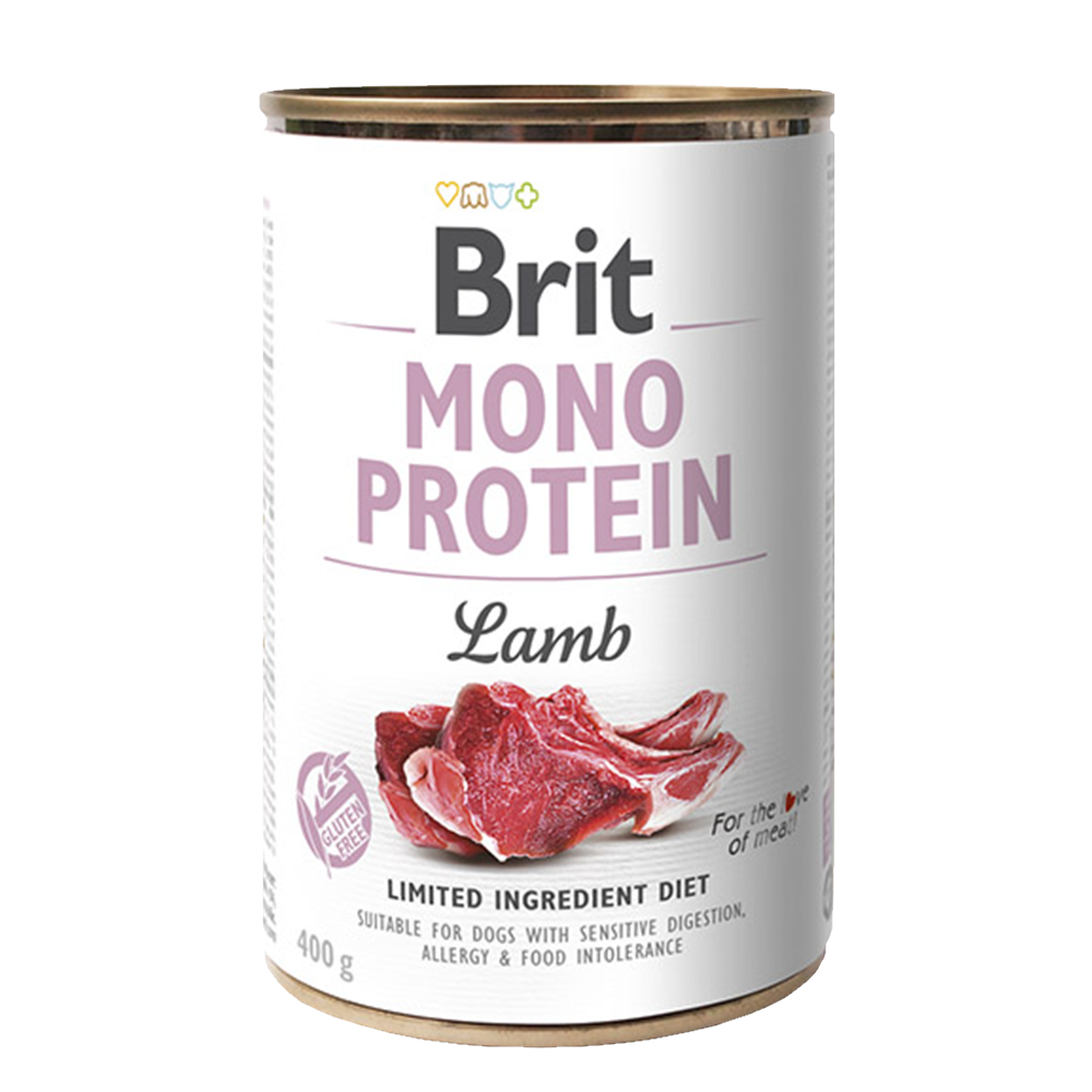 Brit MONO PROTEIN Lamb konzerva pro psy 400 g